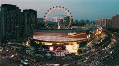 夜空彩虹新媒体艺术装置亮相宁波万象城,塑造城市生活梦想地